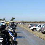 Passage du Gois à moto