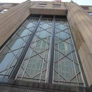 Façade de l'entrée de l'Empire State Building.