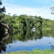 Canaux dans le parc de Tortuguero