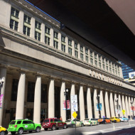 Facade de l'Union Station de Chicago