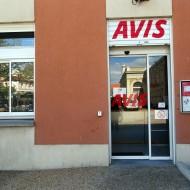 le nouvel AVIS, installé désormais dans la gare