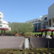 Le Getty center et son jardin
