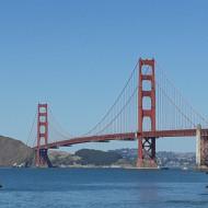 Le golden gate bridge - vue depuis la plage