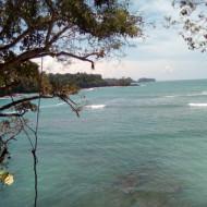 vue sur la Plage Manuel Antonio depuis la Punta Catedral