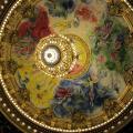 plafond peint par Chagall