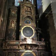 Vue de l'horloge astronomique