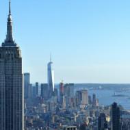 Vue sur l'Empire State Building et Downtown depuis Top of the Rock Observation Deck, juin 2017, SB
