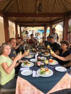 Arequipa repas avec notre agent ARNAUD