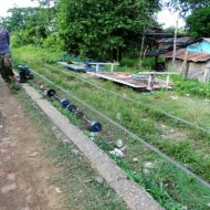 Train de bambou à Battambang