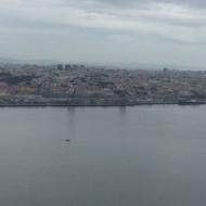 Vue de Lisbonne depuis le parc de Cristo Rei