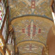 plafond couloir bâtiment  administration