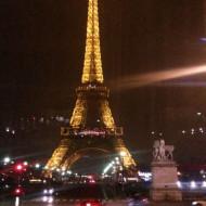 La tour Eiffel et son fameux restaurant.