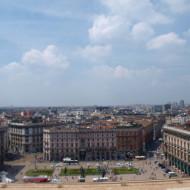 piazza del Duomo vue de la terrasse de la cathédrale