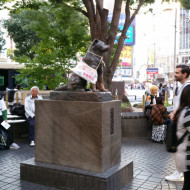 la célèbre statue du chien