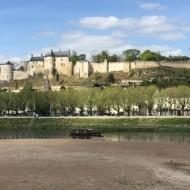 Vue de la forteresse au bord de la vienne