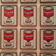 Campbell's soup cans de Wharol