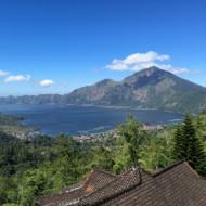 Le lac et son volcan