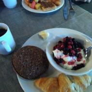 Exemple d'un petit déjeuner.