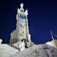 Notre Dame de la Garde la nuit