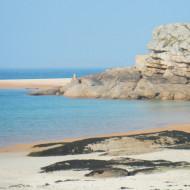 Autre amas rocheux sur la plage de Coz-Pors