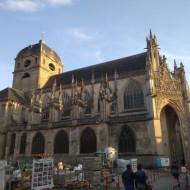 Vue de la Basilique d'Alençon