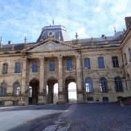 Palais de Lunéville . Cour - Corps central - 08 mars 2018