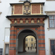 l'entrée du musée du trésor