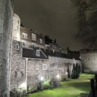 La Tour de Londres de nuit