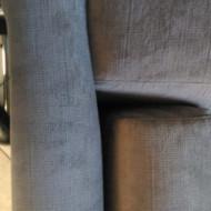 Le canapé reçu
