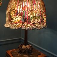 lampe tiffany au MET