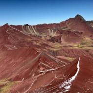 La vallée rouge (Pérou) Montaña Vinicunca
