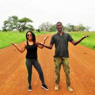 En route vers le marché hebdomadaire de Nguéniène