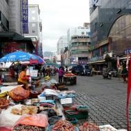 autour du marché de  Jagalchi