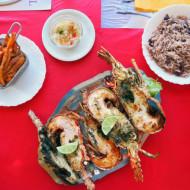 menu langouste