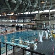 LIMOGES (87) - Fosse à Plongeon et bassin natation du centre aquatique L'Aquapolis