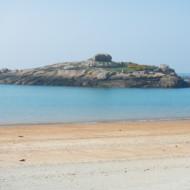 La plage de Coz-Pors à Trégastel