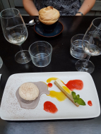Le dessert!