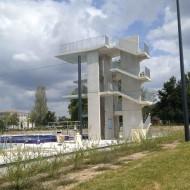 MONTAUBAN (82) - Parc et installations de Plongeon du complexe aquatique INGRÉO