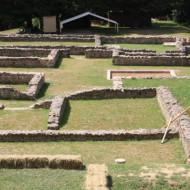 fondations d'une maison gallo romaine