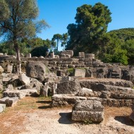 Temple de Zeus, Site archéologique d'Olympie, classé en 1989 - Patrimoine mondial de l'UNESCO