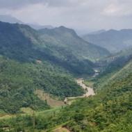 Passage de col, nord est du Vietnam