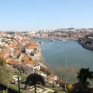 Vue des jardins sur le Douro