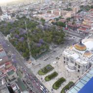 vue sur le Palacio de Bellas Artes