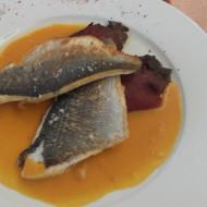 Filets de poisson et son coulis