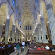 l'intérieur de la cathédrale st Patrick