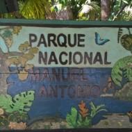 Entrée du Parc national Manuel Antonio