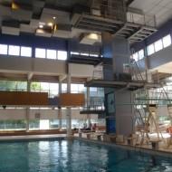 RENNES (35) - Installations de Plongeon et bassin de la piscine de Bréquigny