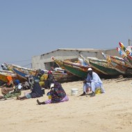 arrivée des pêcheurs à Kayar
