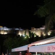 au pied de l'Alcazaba