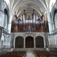 Vue de l'orgue de la cathédrale
